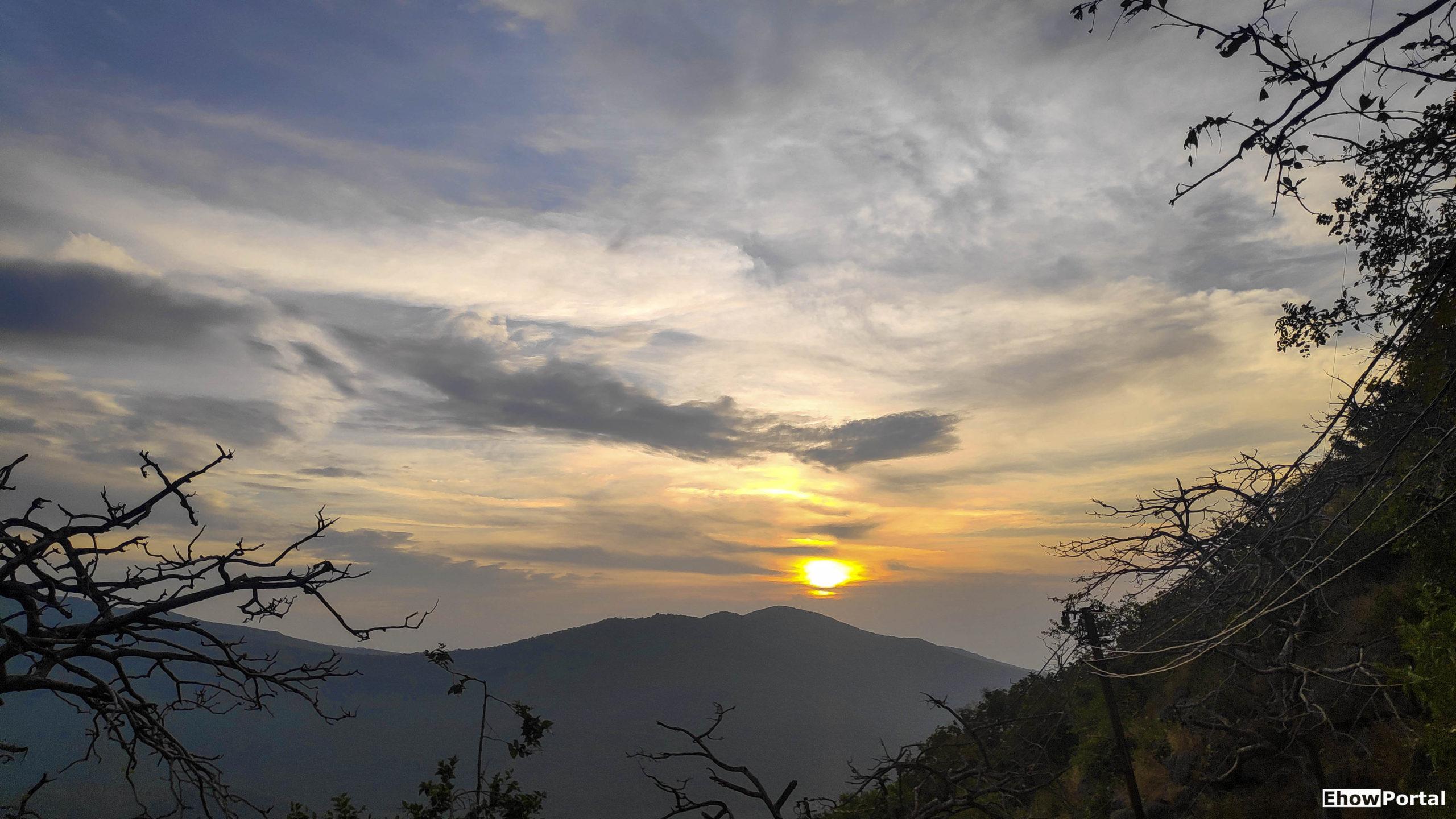 Sunset View at Girnar Hill
