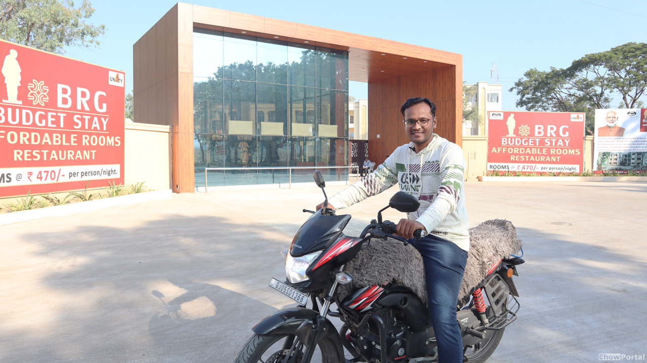 BRG Budget Stay Hotel Review at Statue of Unity