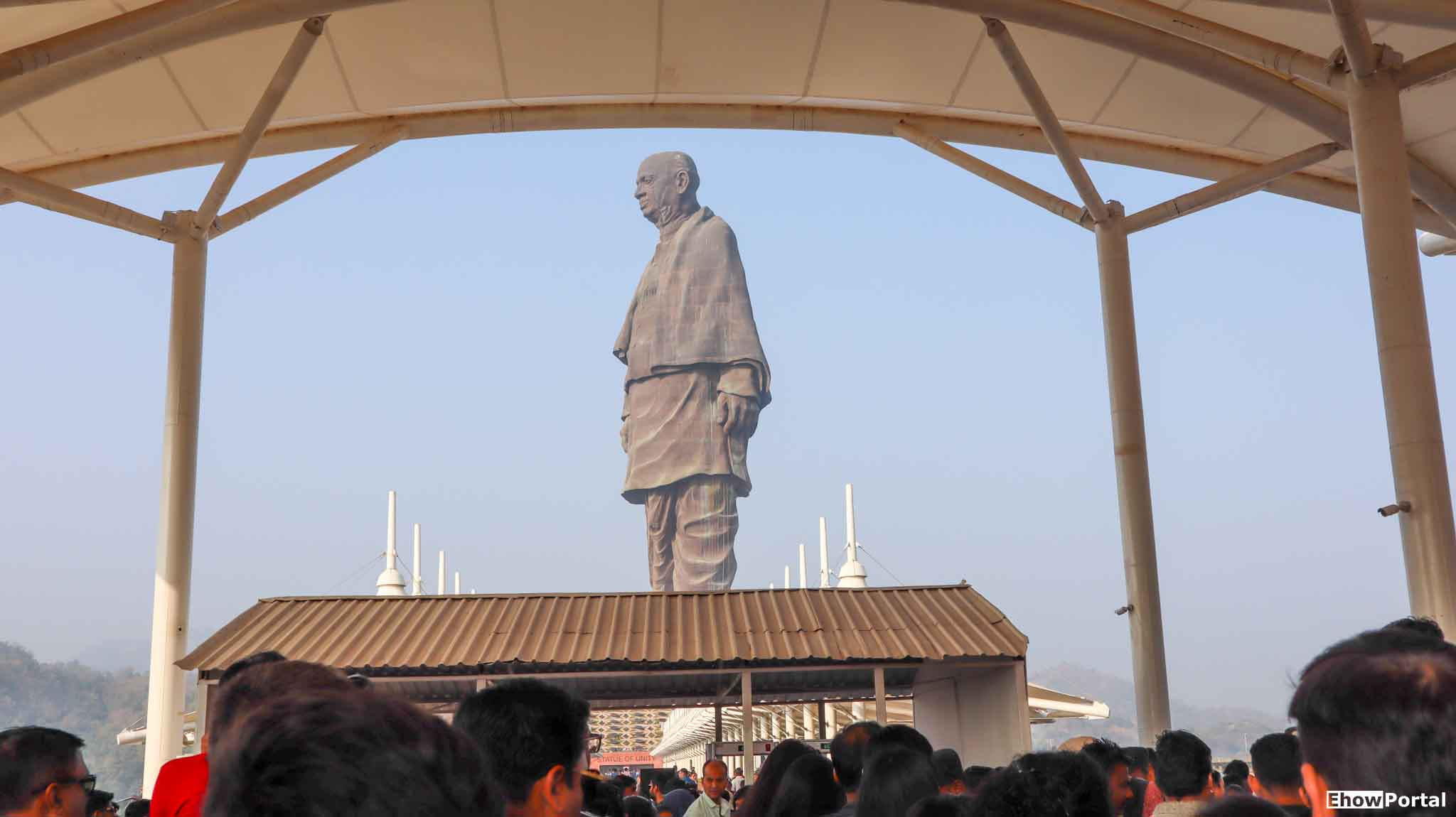 Statue of Unity Ticket Verification