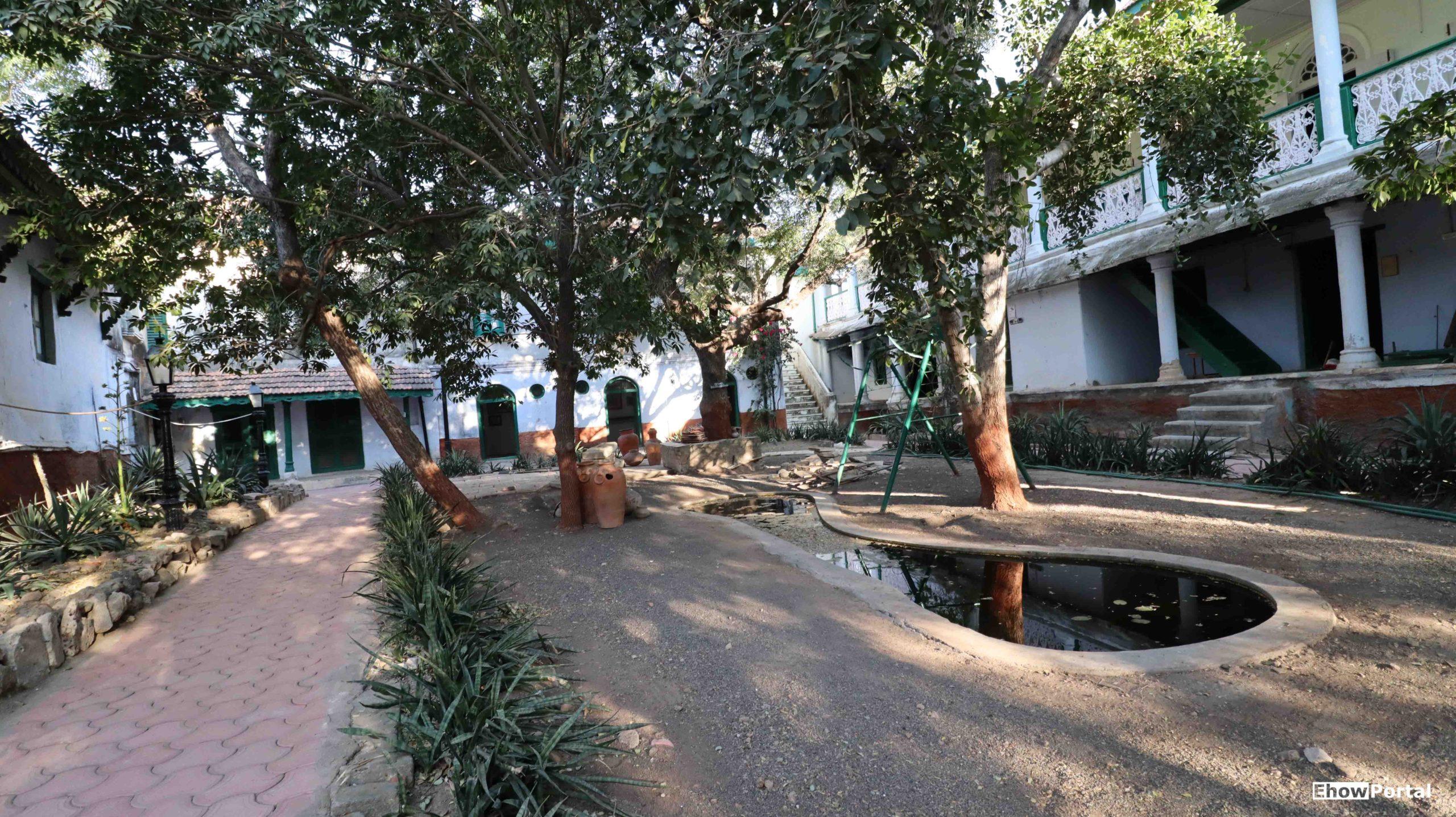 Inside Hingolgadh Fort