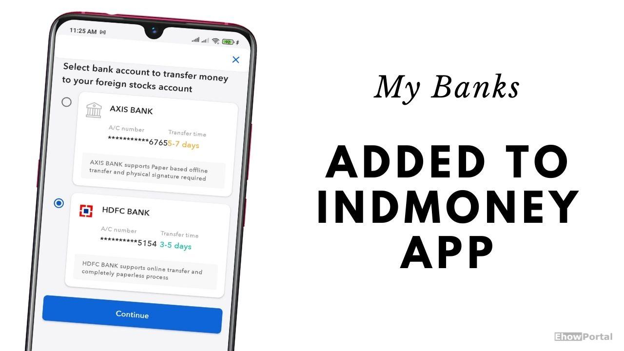 Adding Banks to IndMoney App